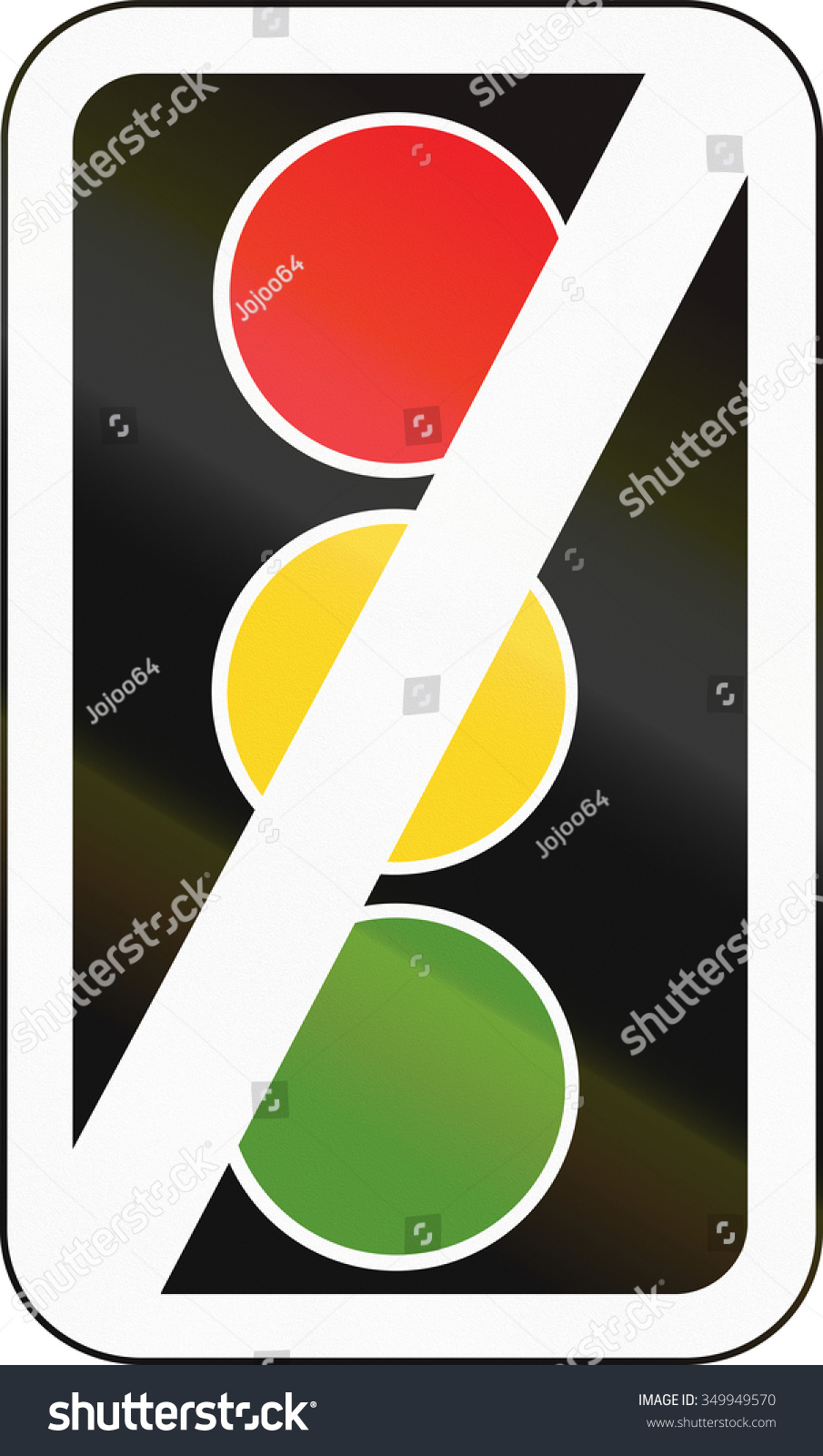 Road Sign In Pakistan   Traffic Signals Out Of Order .