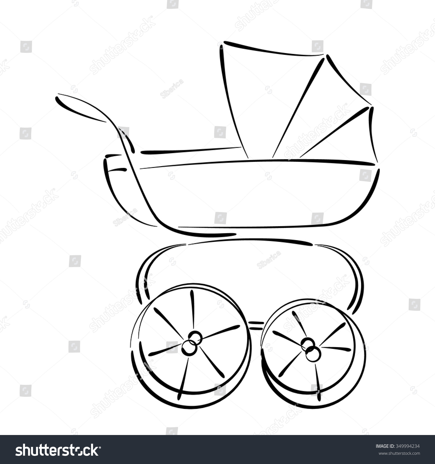 Nice Baby Stroller Template Pictures >> Baby Bottle Template ...