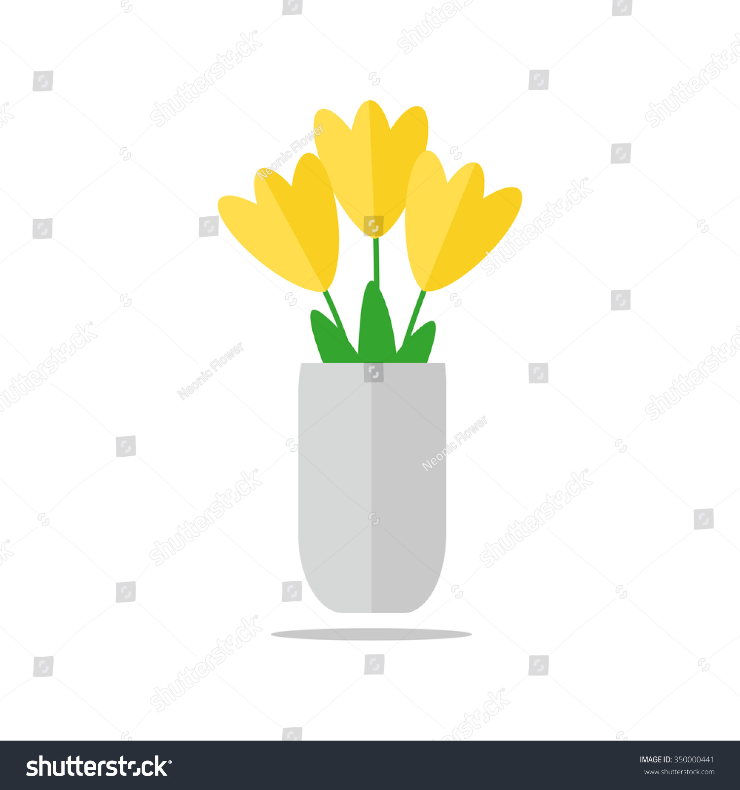 Flower vase vase flower isolated icon stock illustration 350000441 flower vase vase of flower isolated icon on white background yellow tulips in the reviewsmspy