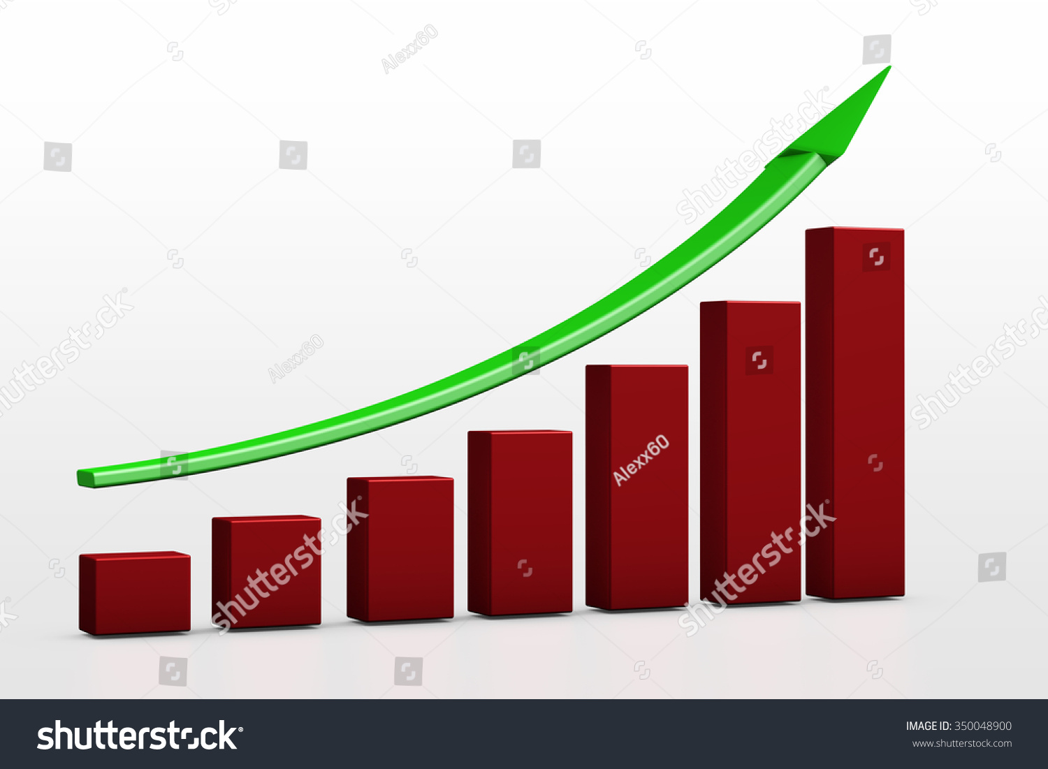 Business growth chart bars on white stock illustration 350048900 business growth chart bars on a white background nvjuhfo Gallery
