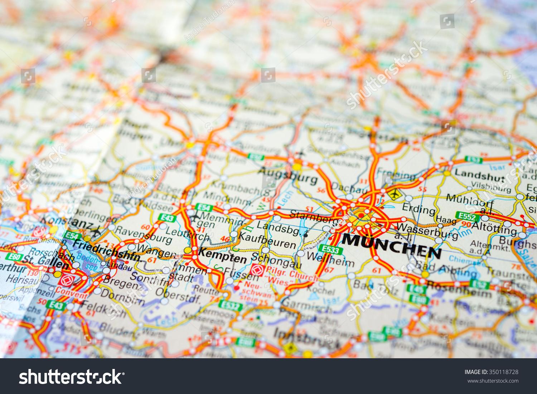 Munich Maps And Orientation Munich Bavaria Germany Map Of Munich - Germany map view