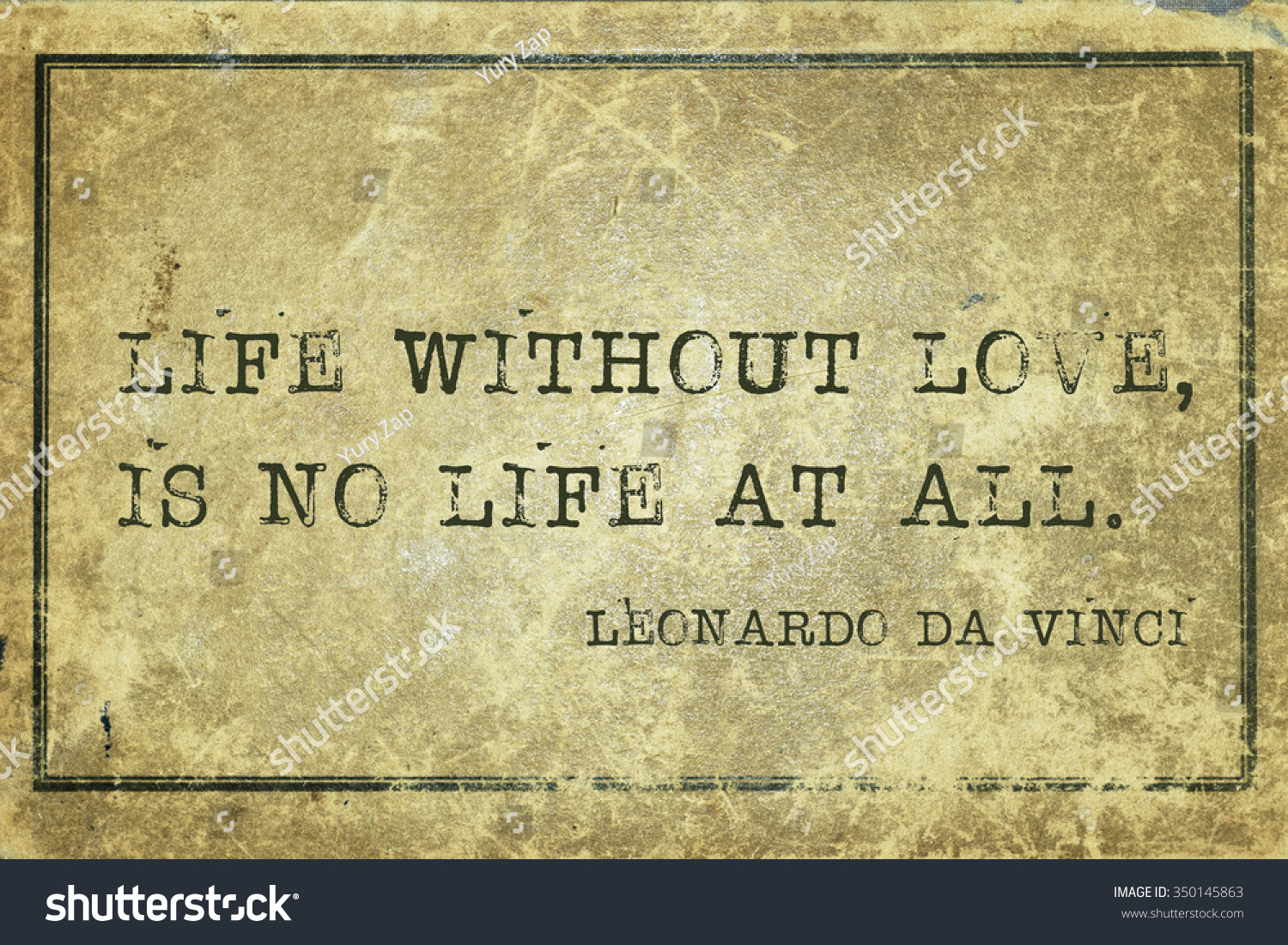 Life Without Love Quotes Life Without Love No Life All Stock Illustration 350145863