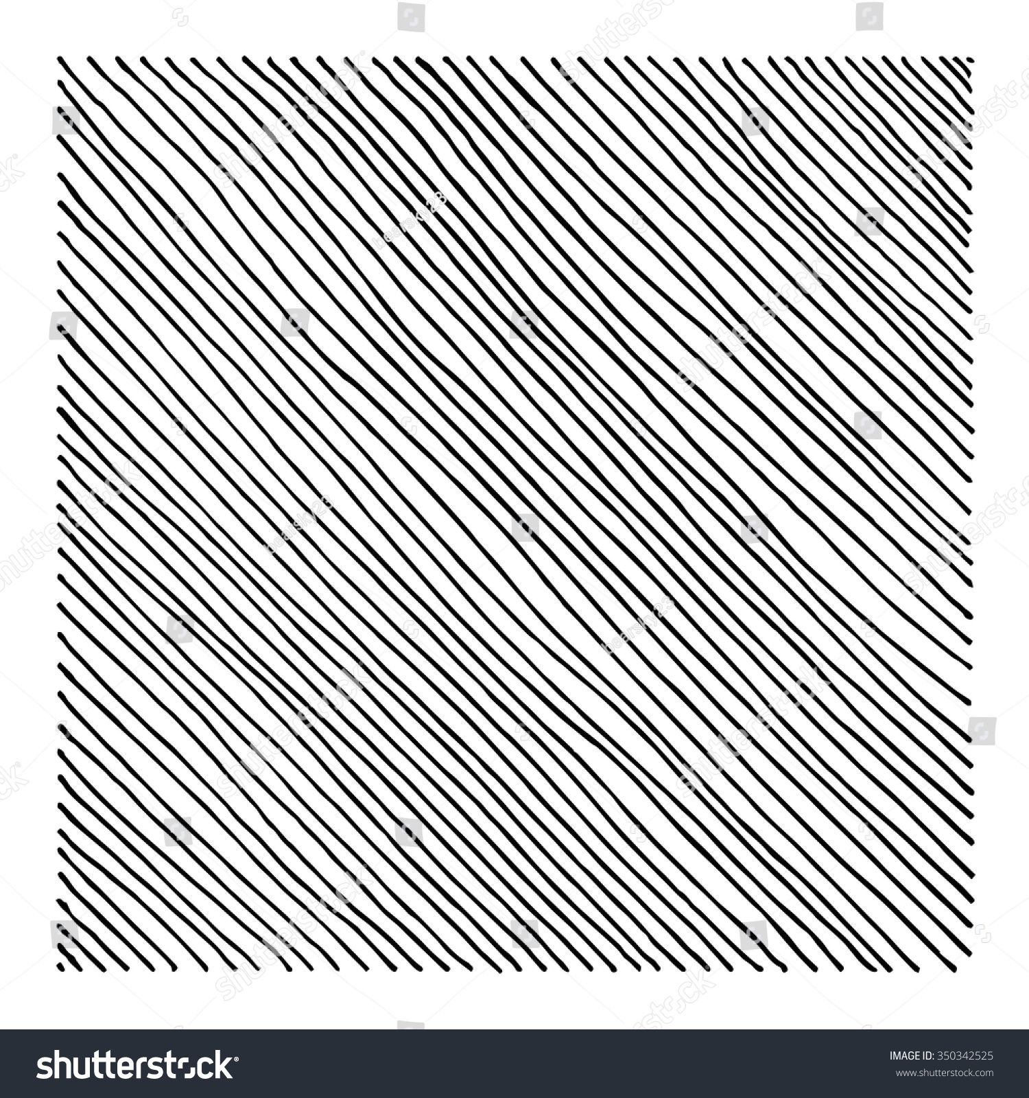 Drawing Lines With Html : Hand drawn straight black diagonal lines stock vector