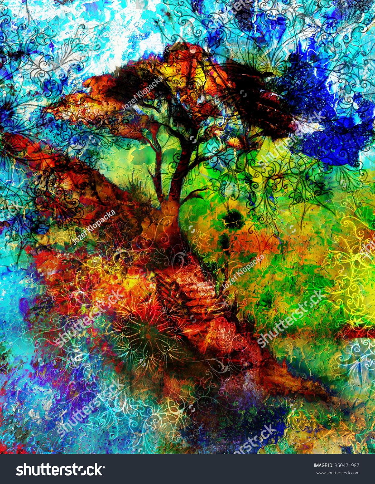 Original oil painting- autumn landscape -Modern impressionism | EZ ...