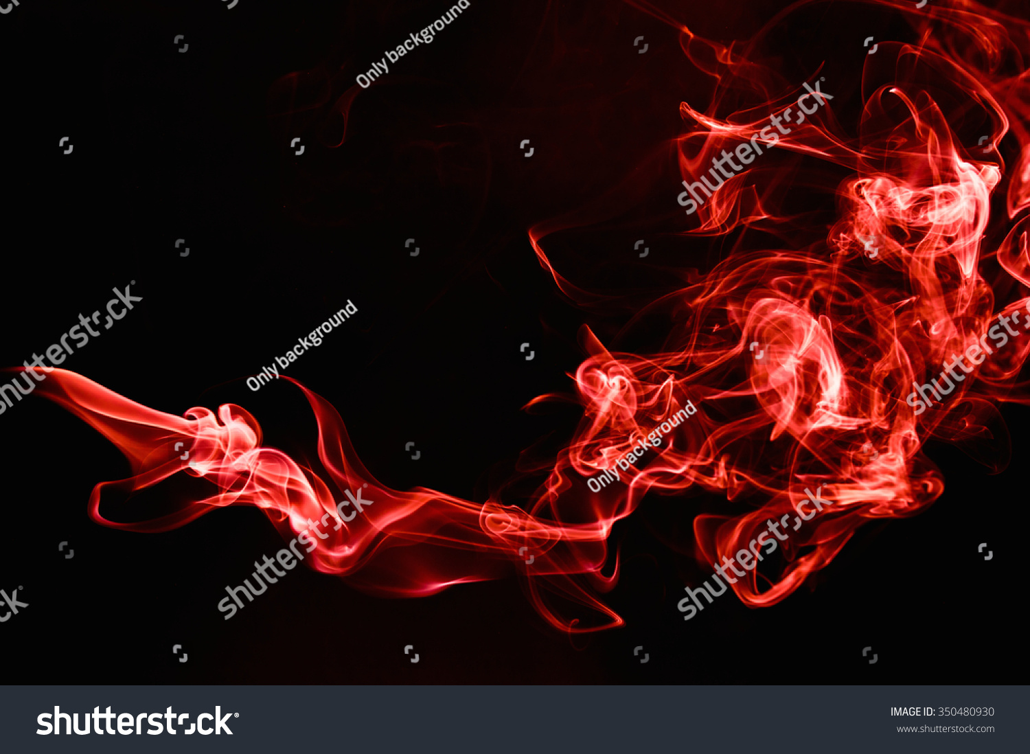 Red Smoke abstract background. #350480930