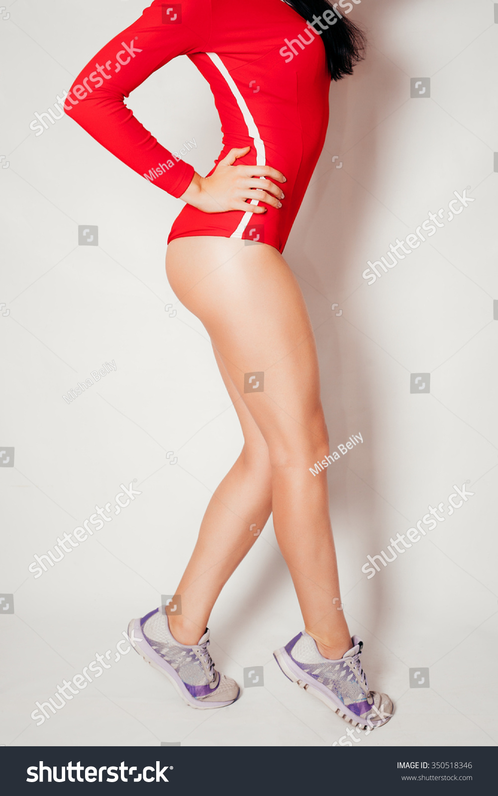 sexy beautiful athletic ass beautiful athletic stock photo (royalty
