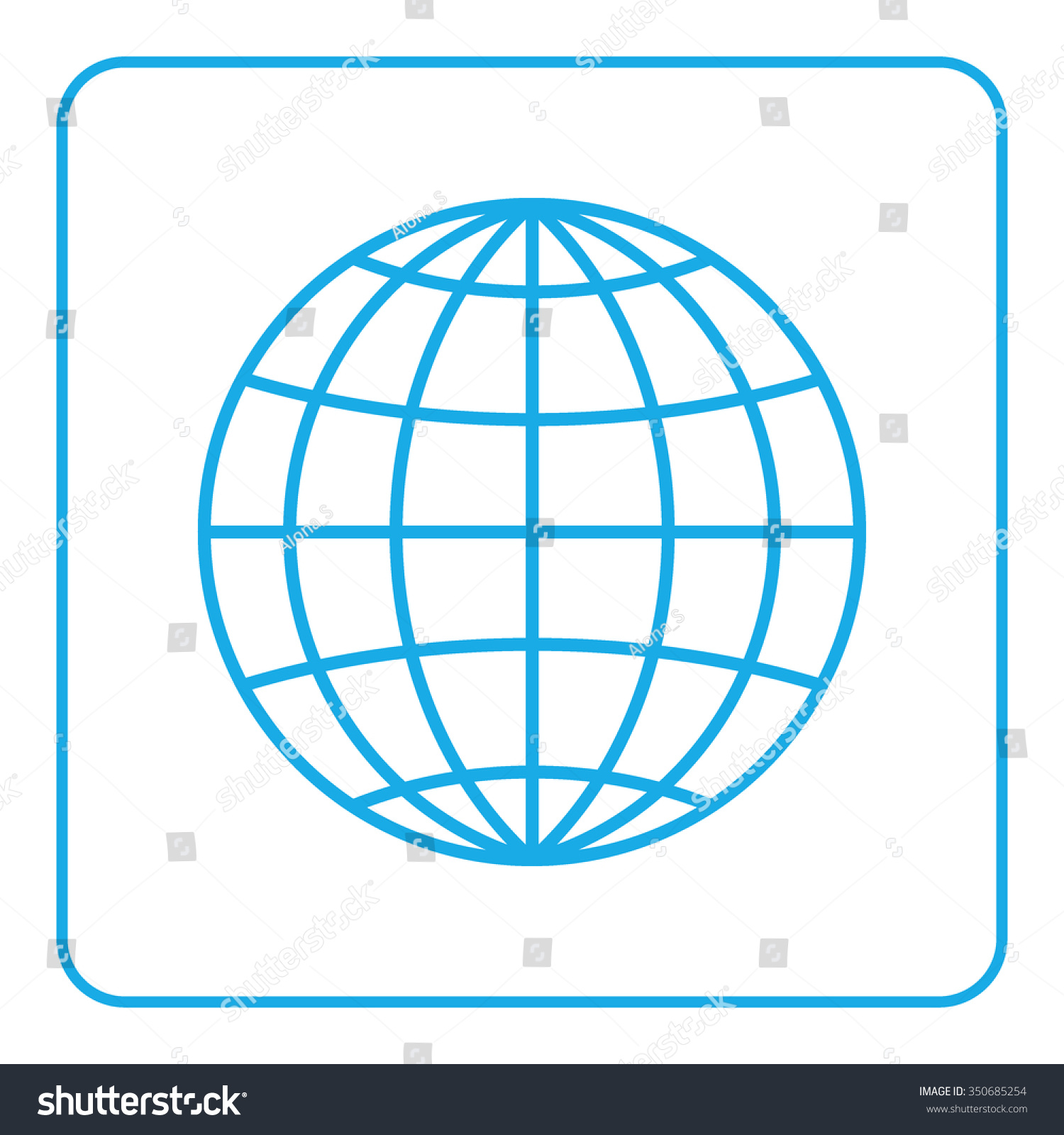 Deciding stock illustrations royalty free gograph - Symbol Of Network Planet Geography