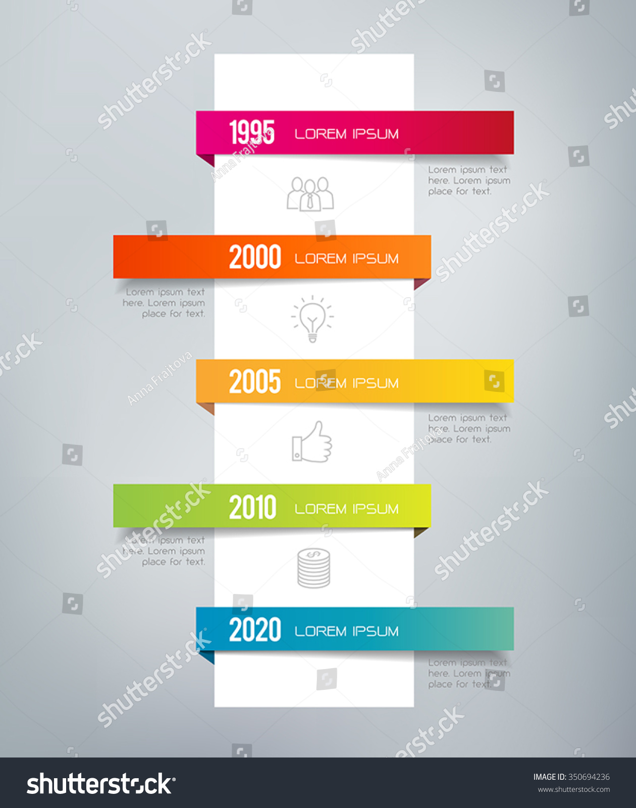 infographic timeline can illustrate a strategy a workflow a sequence of events
