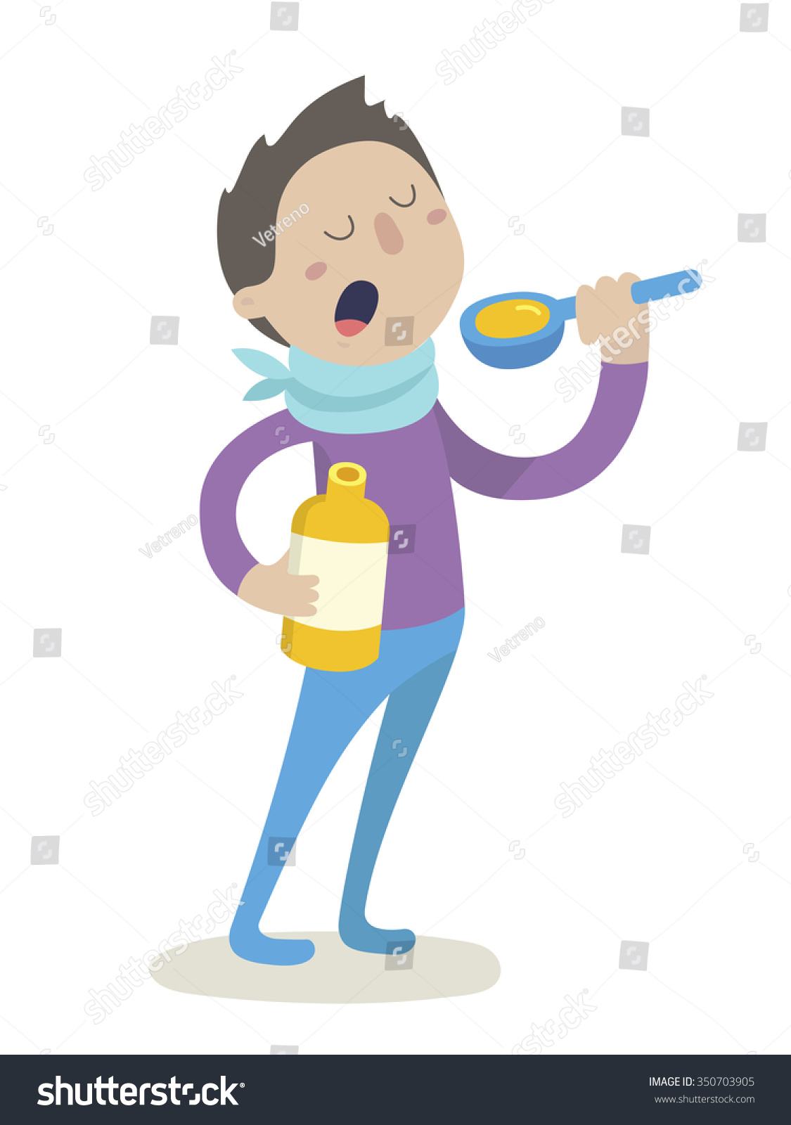 sick boy flu virus takes cough stock vector royalty free 350703905 https www shutterstock com image vector sick boy flu virus takes cough 350703905