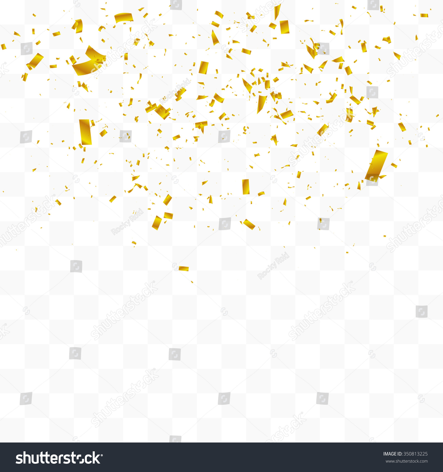 gold confetti falling abstract background with many falling gold tiny confetti 1360