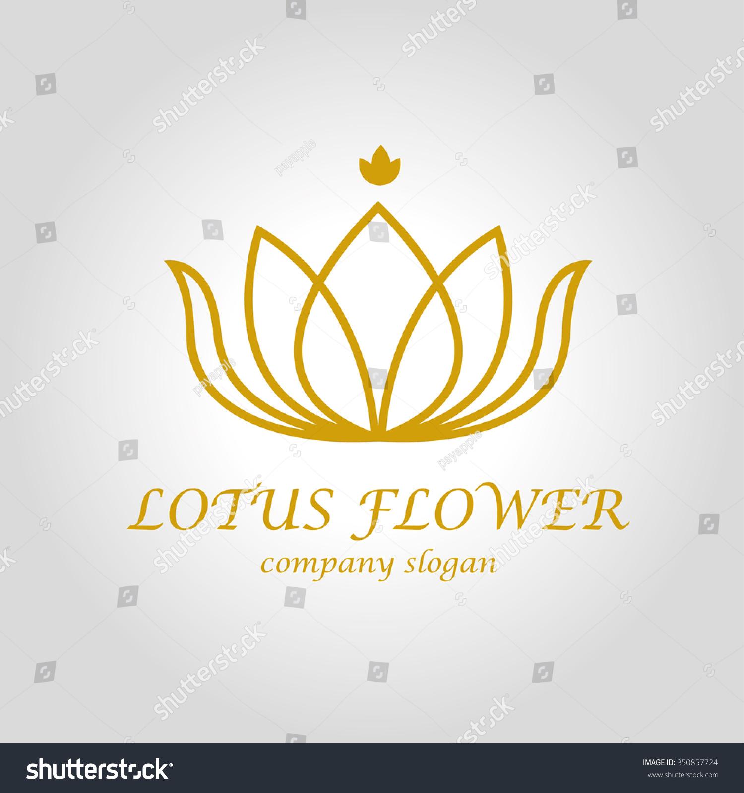 Royalty free lotus flower logo 350857724 stock photo avopix lotus flower logo 350857724 izmirmasajfo