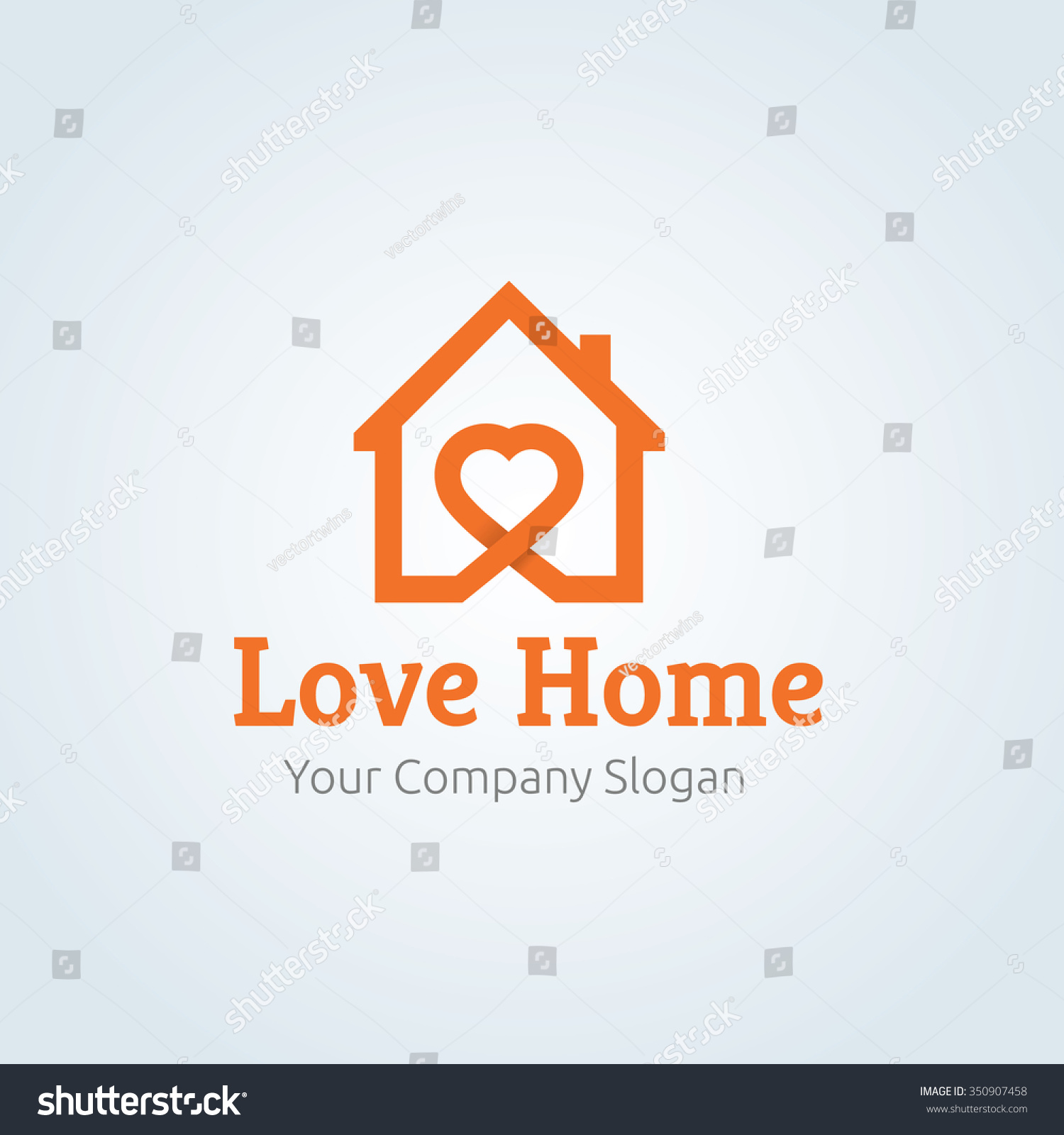 Love home logovector logo template 350907458 for Lovers home