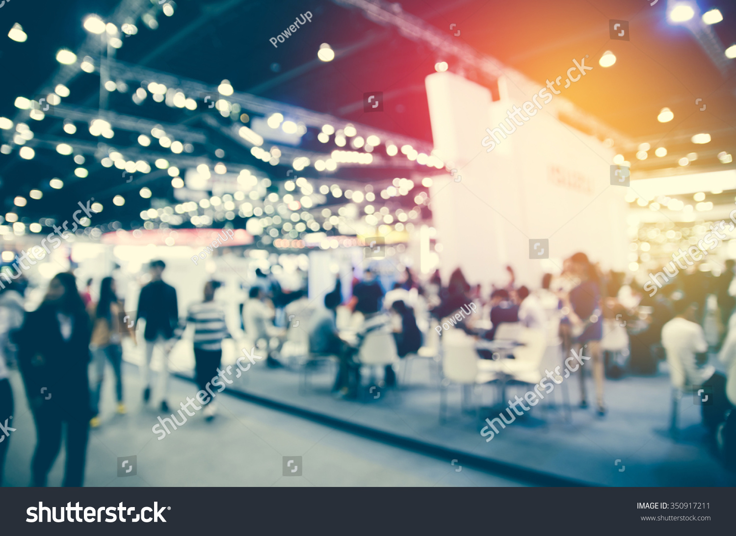 abstract blurred event with people for background #350917211