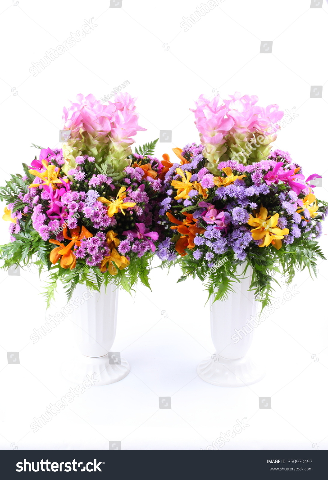 Beautiful wild flowers bouquet in vase isolated on white ez canvas id 350970497 izmirmasajfo