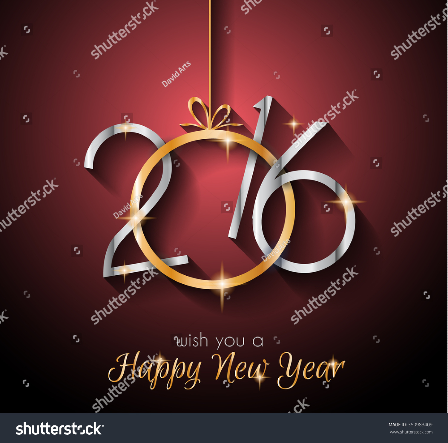 2016 happy new yearbackground for seasonal greetings cards parties
