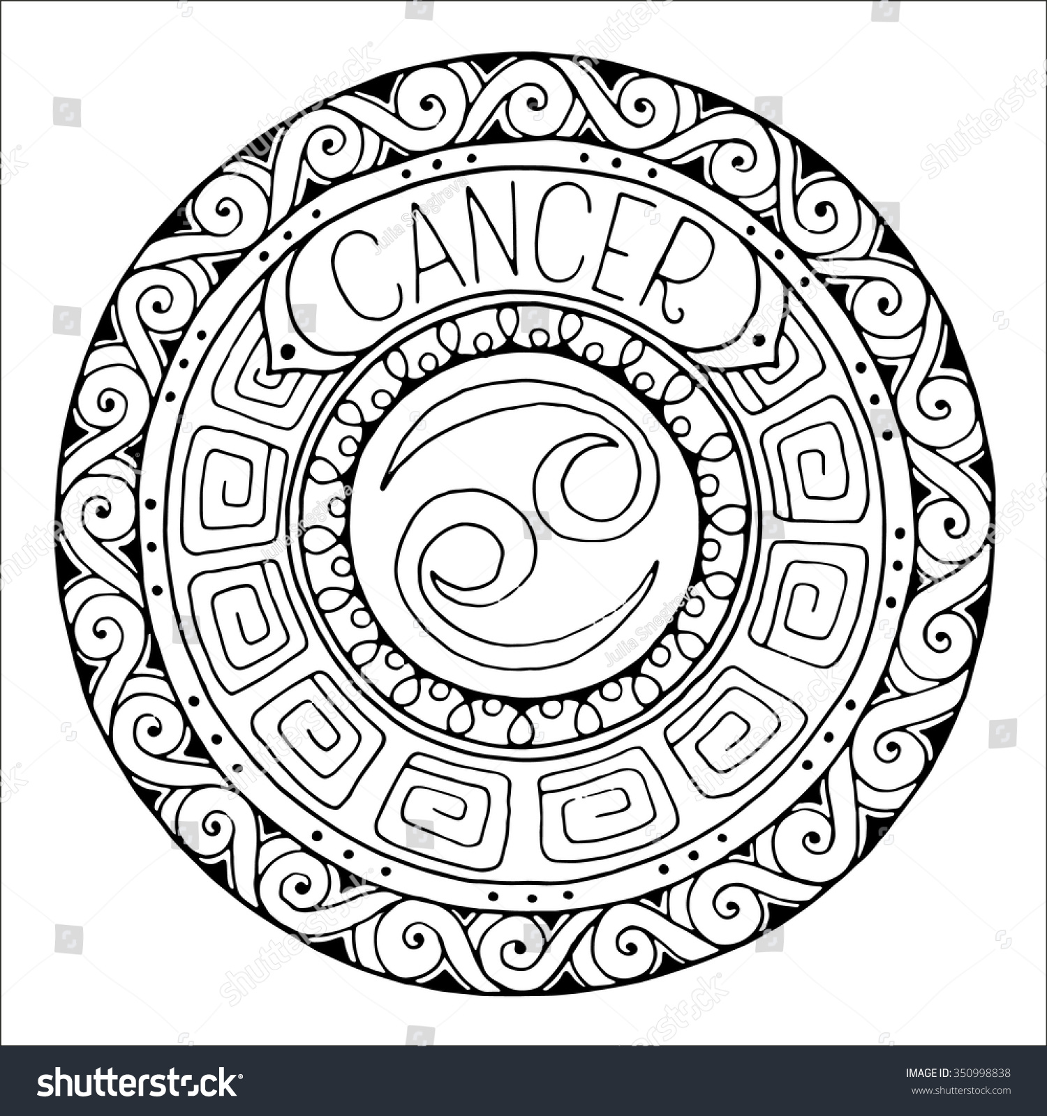Zodiac Sign Cancer Constellation