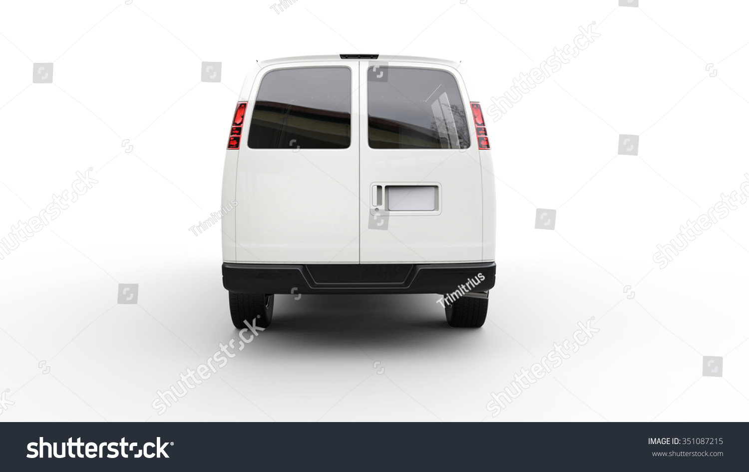 Van Back View