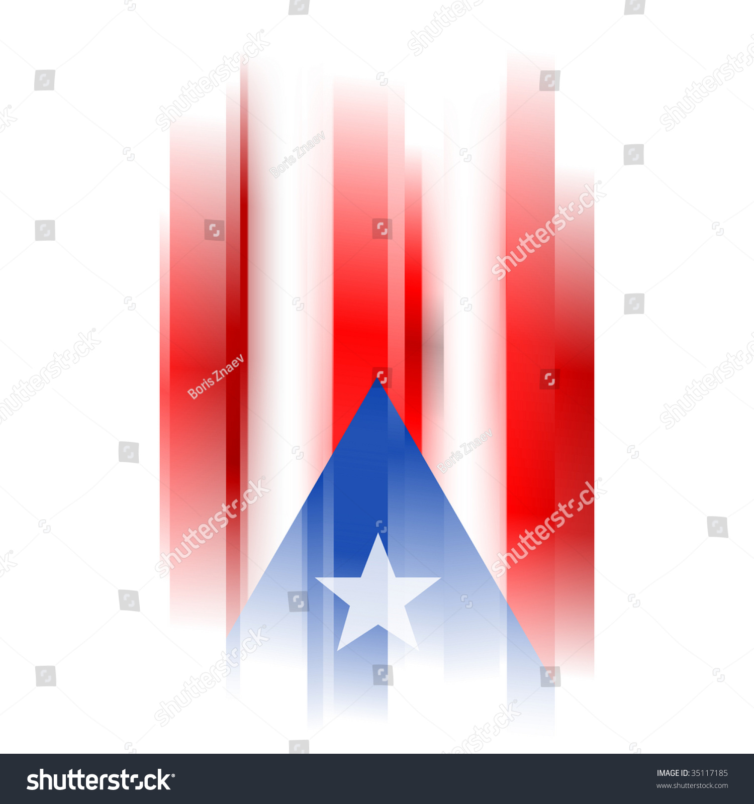 Abstract puerto rico flag on white stock illustration 35117185 the abstract puerto rico flag on white background biocorpaavc Image collections
