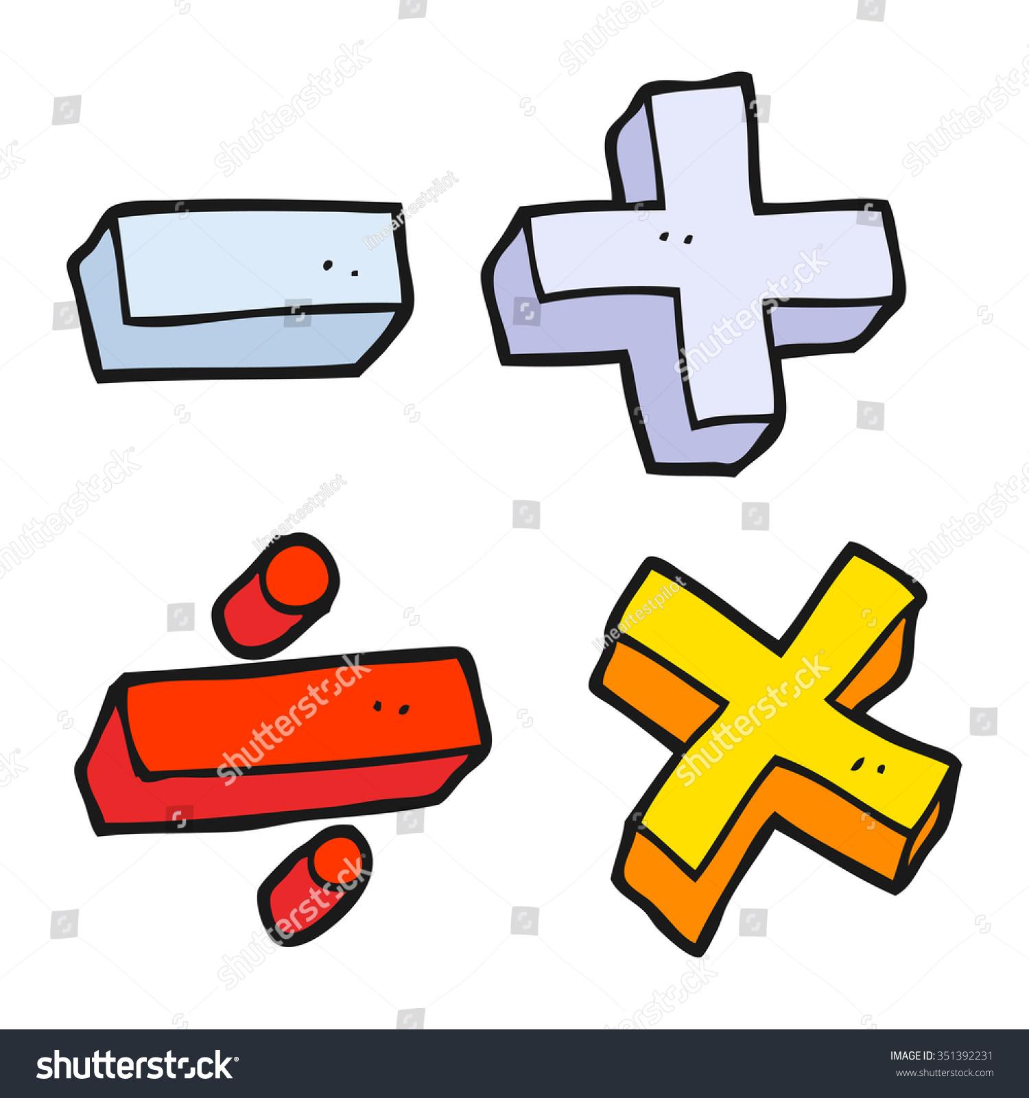 Showing post & media for Cute cartoon math symbols | www ...