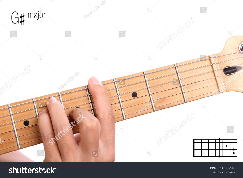 Royalty Free G Basic Major Keys Guitar Tutorial 351477512 Stock