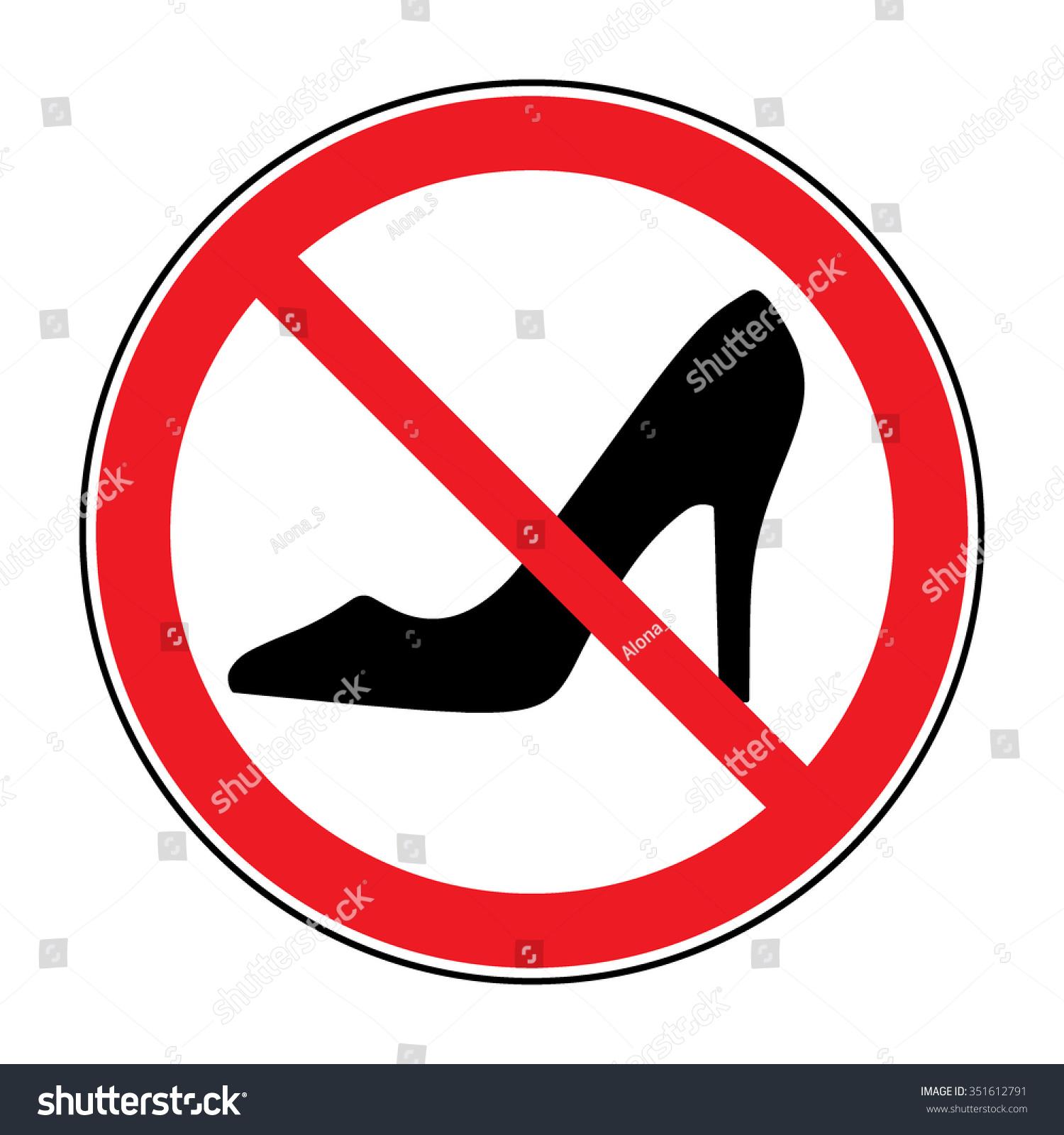 No Heels High Heels