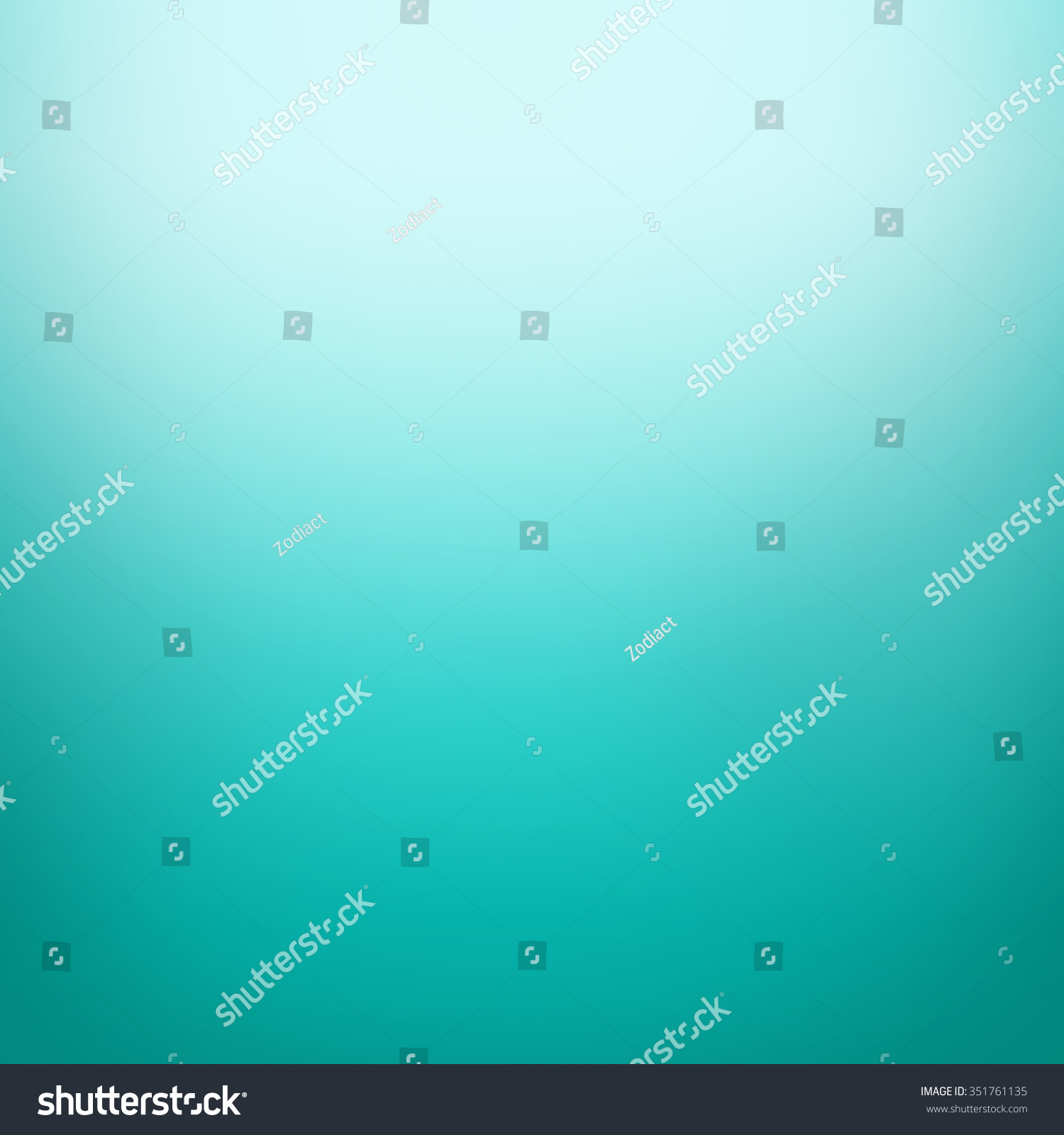 Abstract Turquoise Color Gradient With Dark Border And White Beige Background Faded