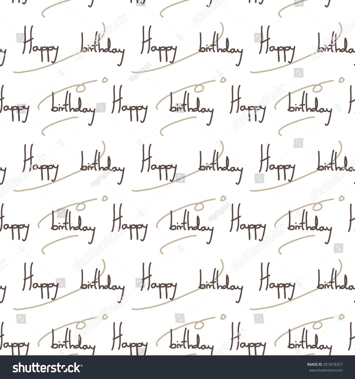 happy birthday wrapping paper seamless pattern stock vector happy birthday wrapping paper seamless pattern in vector