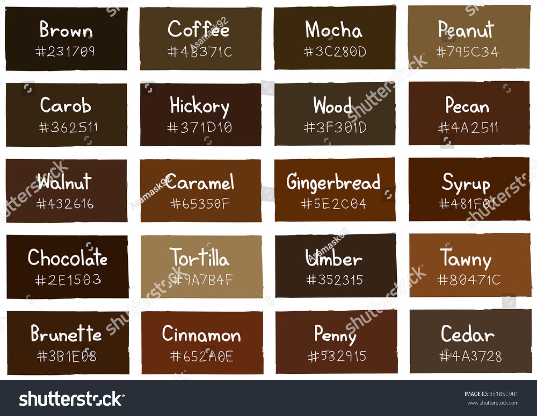 28 Paint Color Chart Brown