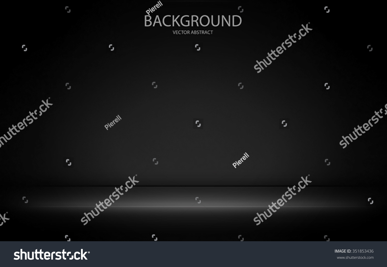 stylish black background light effects stock vector