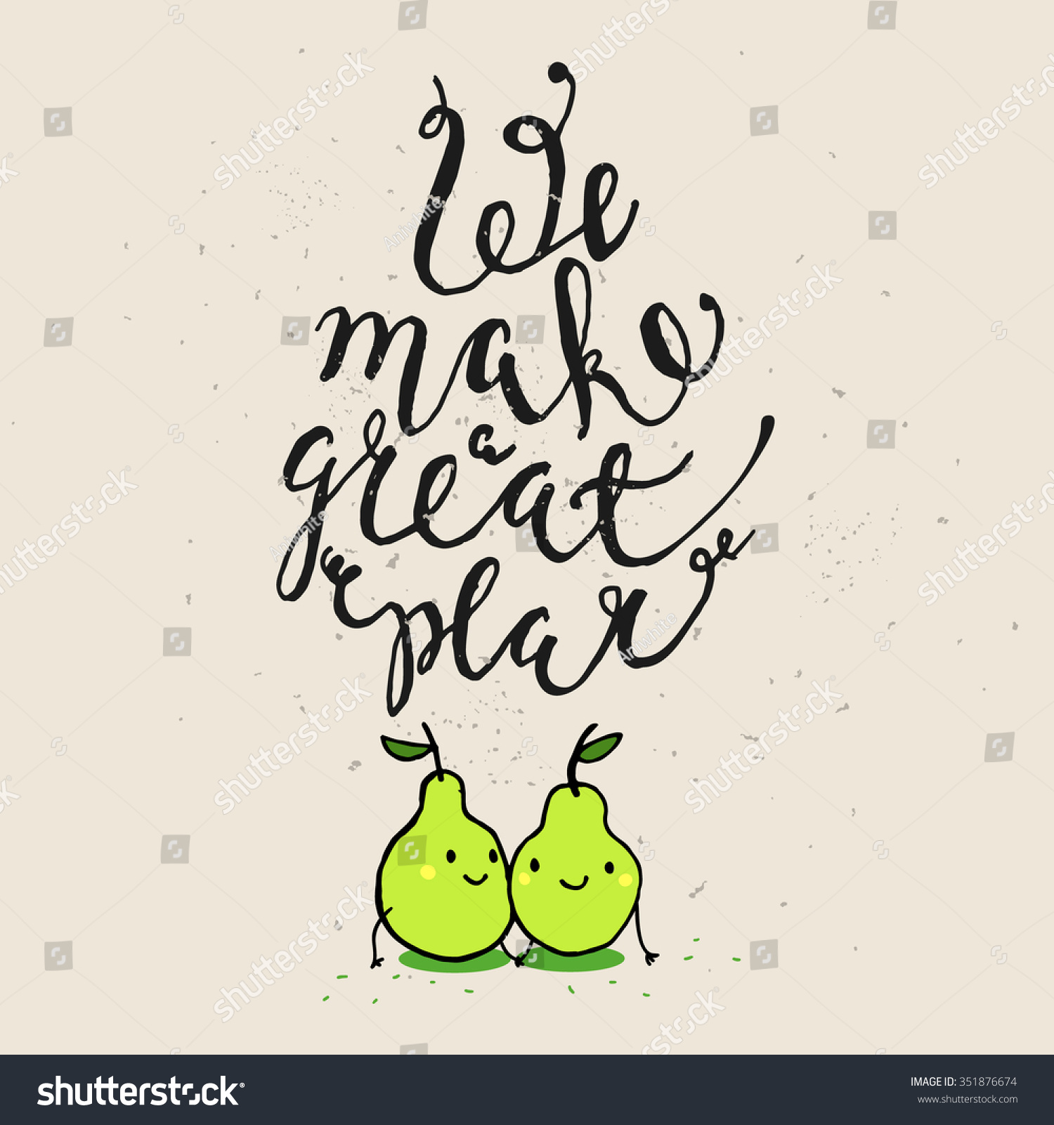 Funny Phrases About Love Hand Drawn Vector 351876674 – Phrases for Valentines Cards