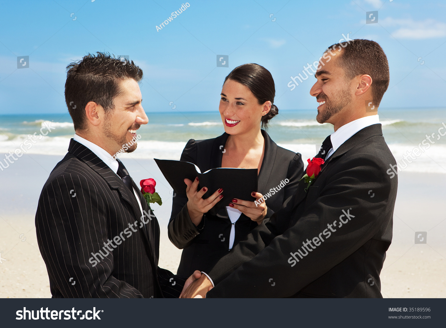 Gay Couple Getting Married 55
