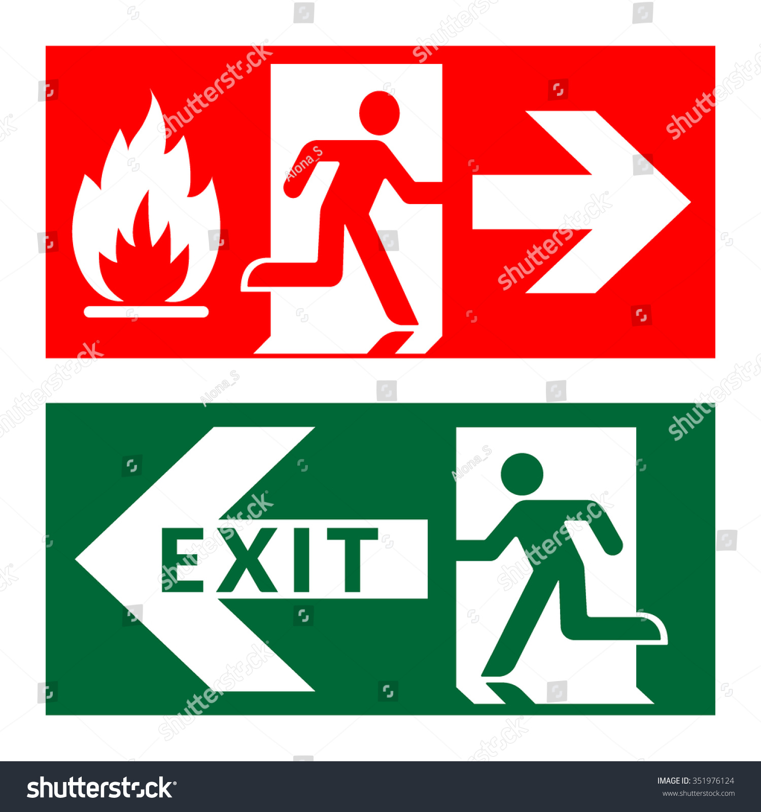 Feuerloescher Richtig Anwenden further Fire Extinguisher Sizes Chart also Stock Vector Exit Sign Emergency Fire Exit Door And Exit Door Green And Red Icon On White Background Safe furthermore 62346776065818672 further RegulatorySigns. on fire safety symbols and meanings