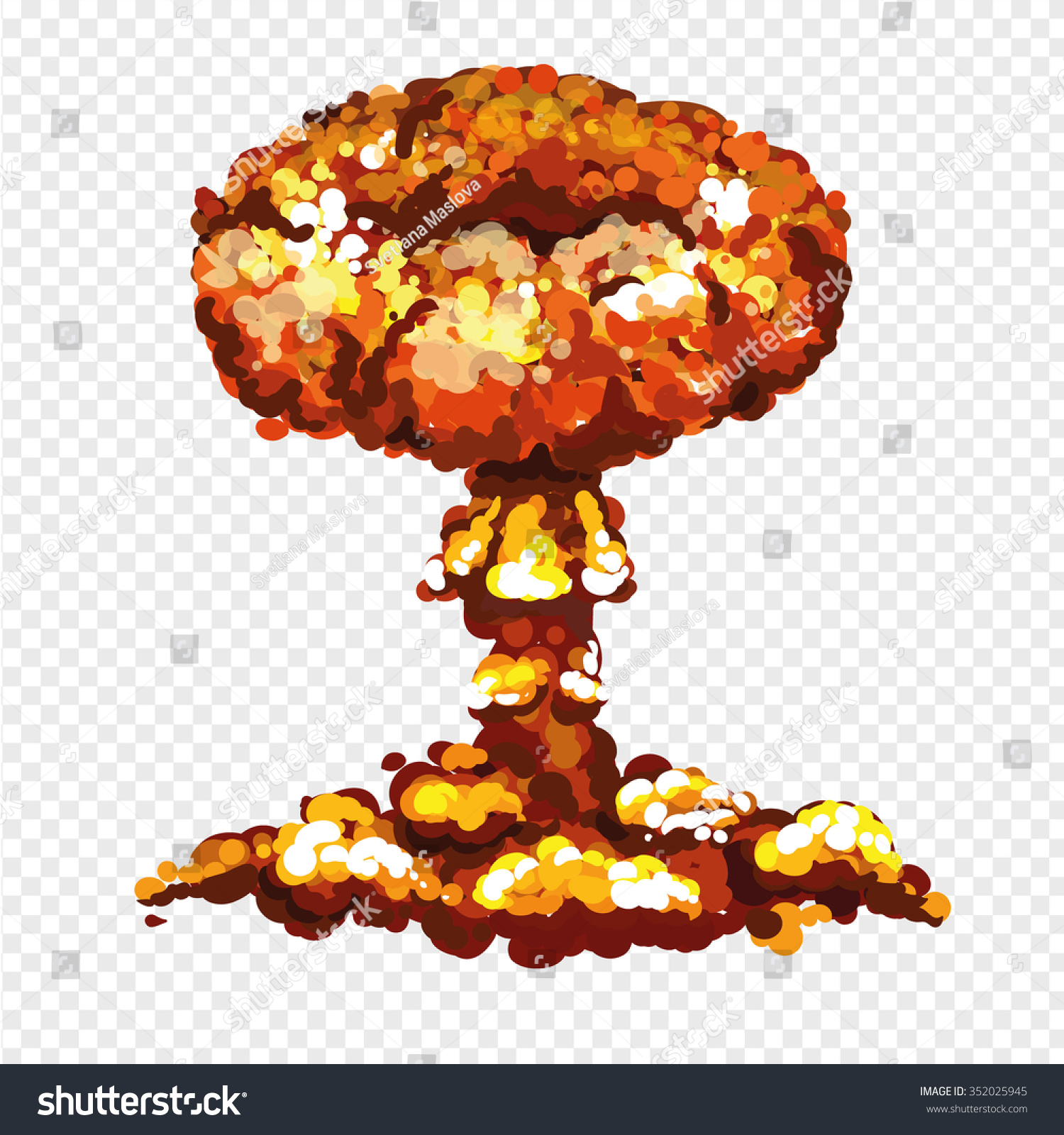 nuclear explosion isolated detonation blast vector stock vector royalty free 352025945 https www shutterstock com image vector nuclear explosion isolated detonation blast vector 352025945