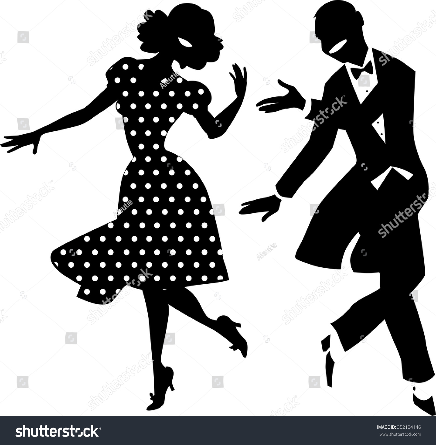 natural dama bailando