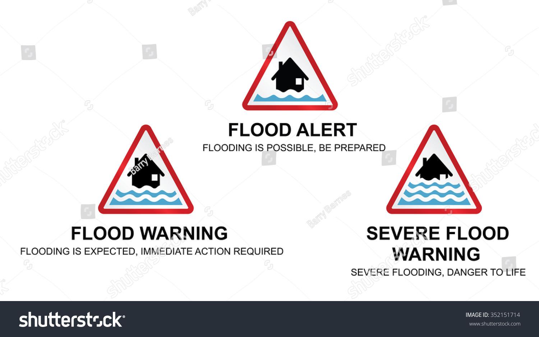 Flood weather symbol view symbol buycottarizona Image collections