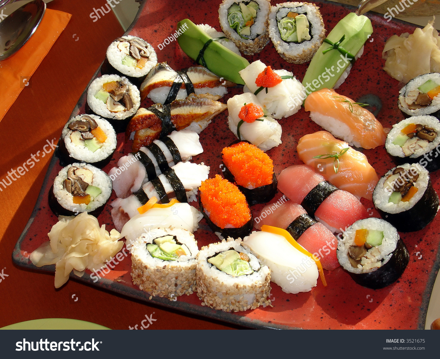 Japanese sushi 1 traditional japanese food stock photo for Authentic japanese cuisine