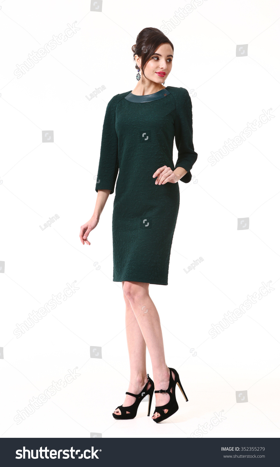 Asian Executive Business Woman Party Dress Stock Photo (Edit ...