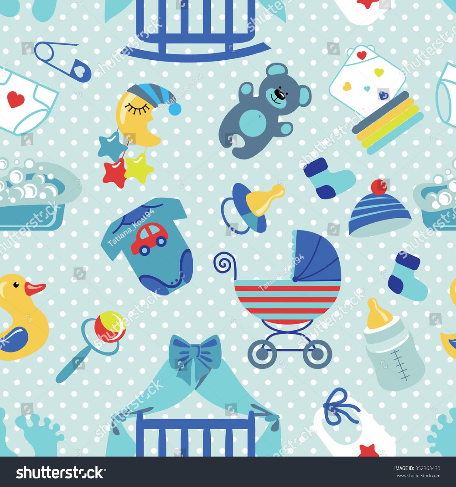 baby boy background design - photo #14