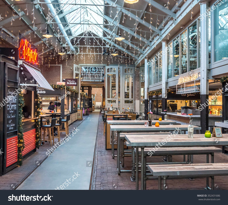 AMSTERDAM NETHERLANDS DECEMBER 06 2015 Restaurant Stock Photo (100 ...