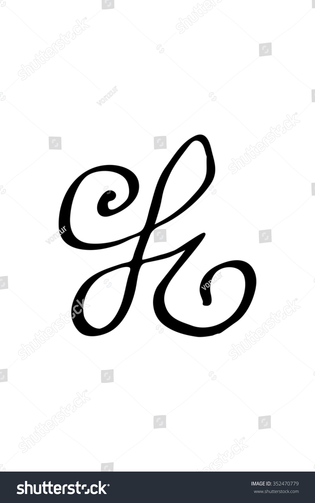 Zibu Angelic Symbols Used Connect Love Stock Vector Royalty Free