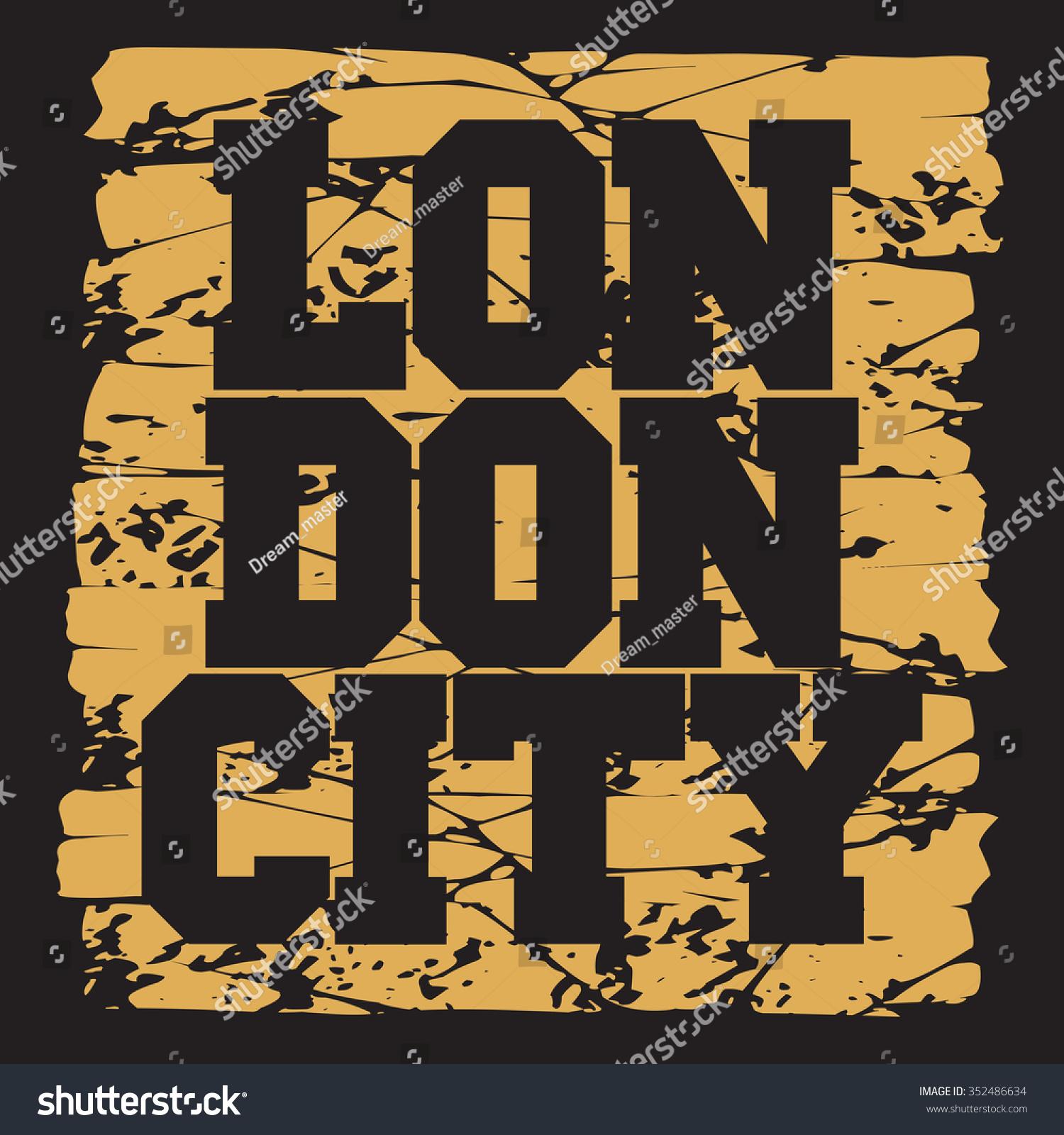 Shirt design london - T Shirt London Design Fashion Typography Graphics Stylish Printing Design