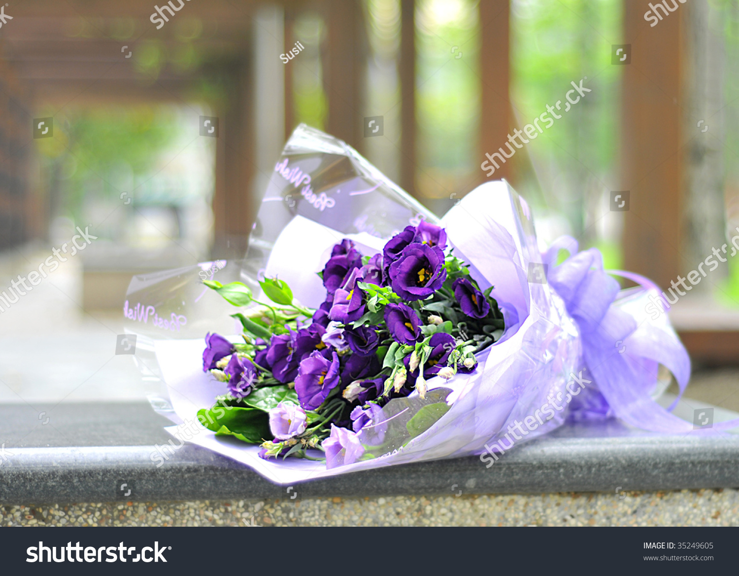 Beautiful flowers birthday gift eustoma stock photo edit now beautiful flowers for birthday gift eustoma izmirmasajfo