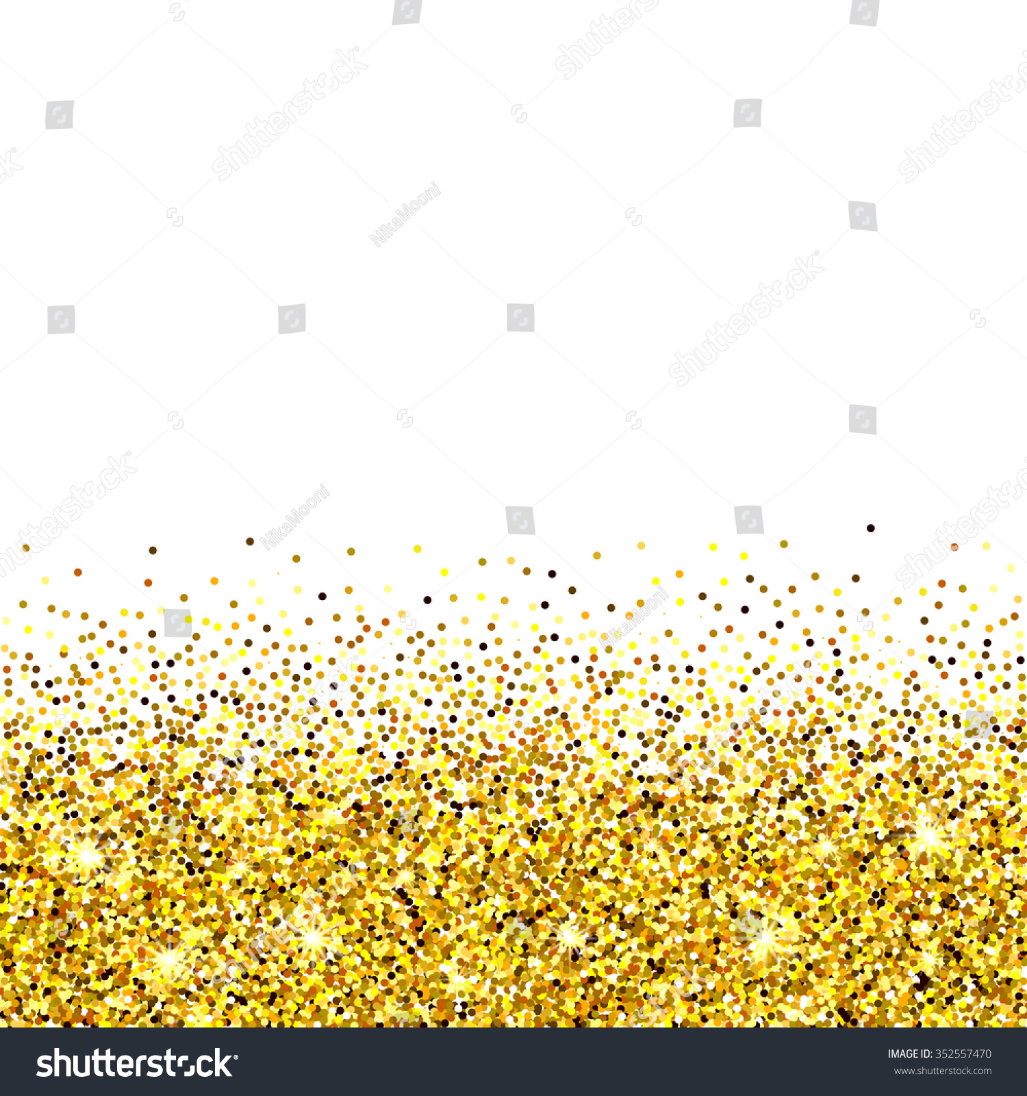 gold glitter background gold sparkles on stock vector 352557470 gold glitter background gold sparkles on white background creative invitation for party holiday