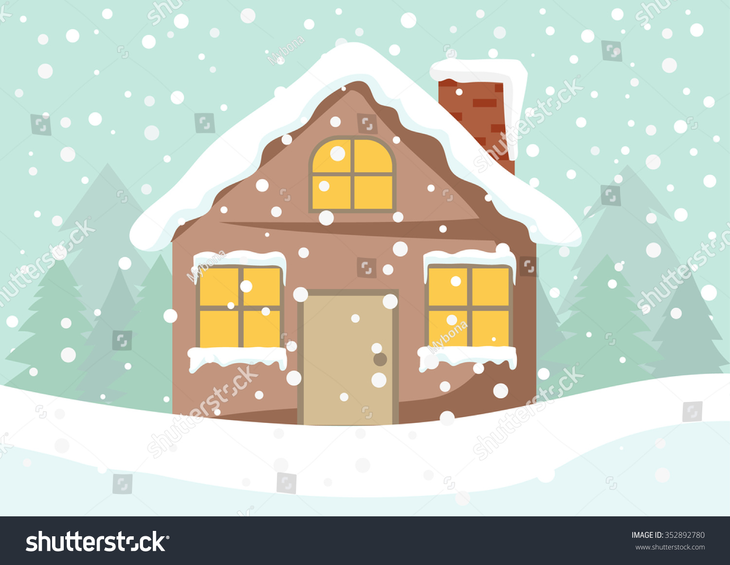 house winter clipart - photo #18