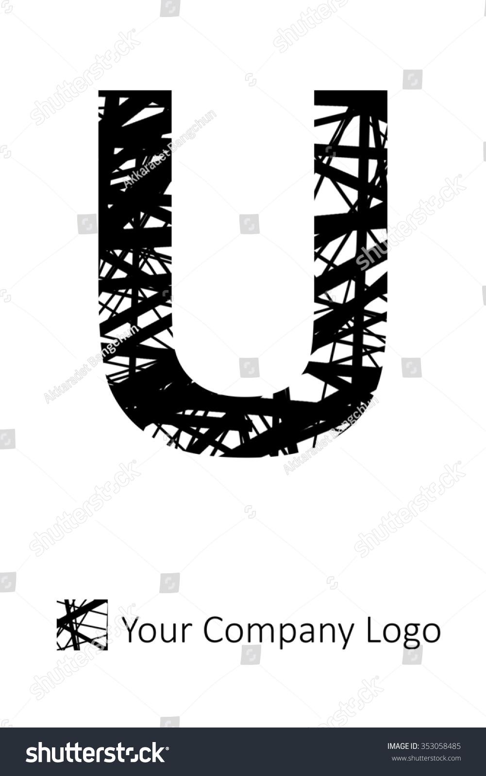 u alphabet design - photo #23