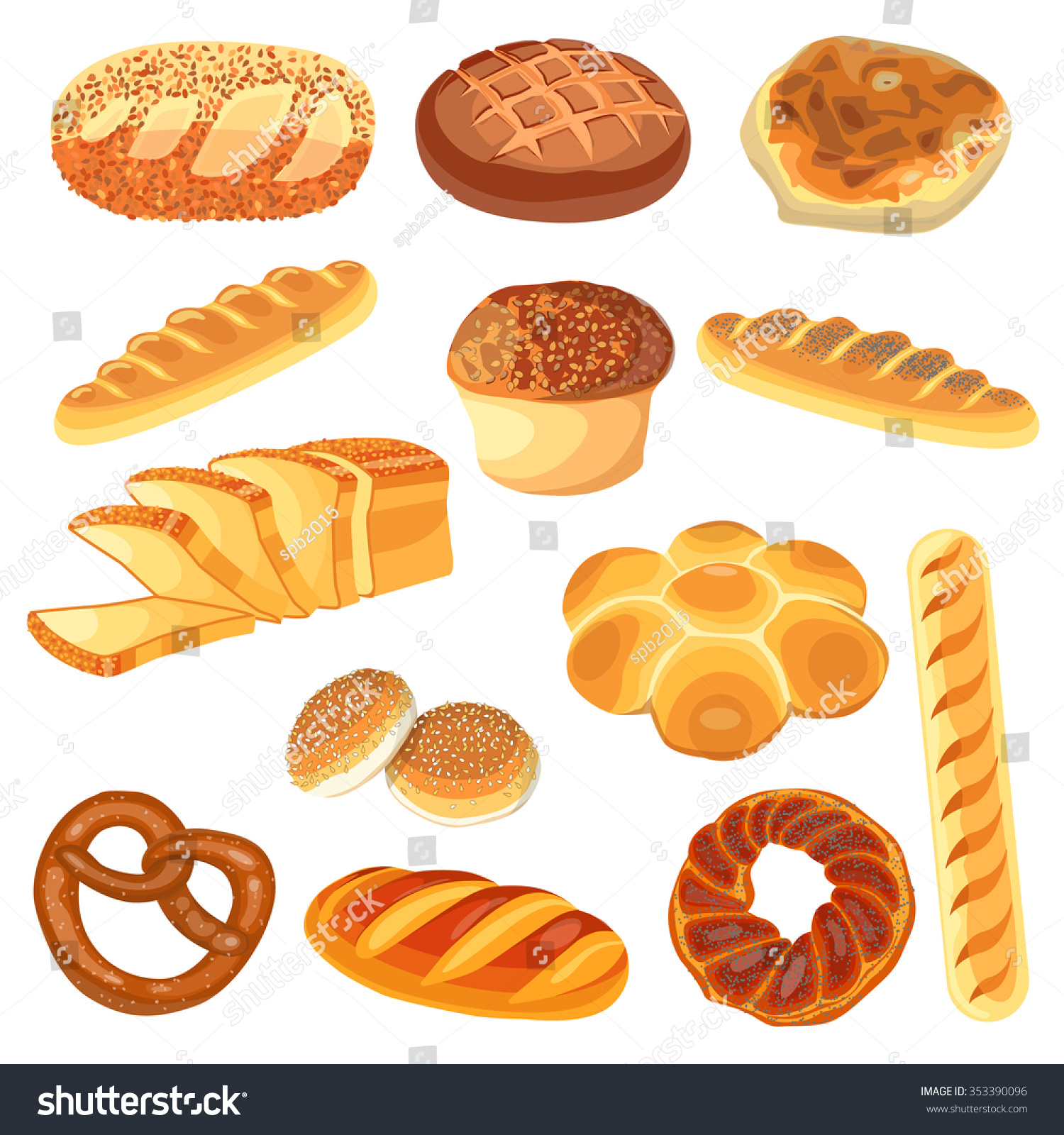 set food rye wheat whole grain stock photo photo vector rh shutterstock com Hunger Clip Art Cereal Clip Art