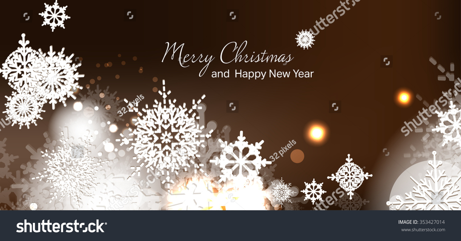 Christmas Cards New Year Winter Holidays Stock Vector Hd Royalty