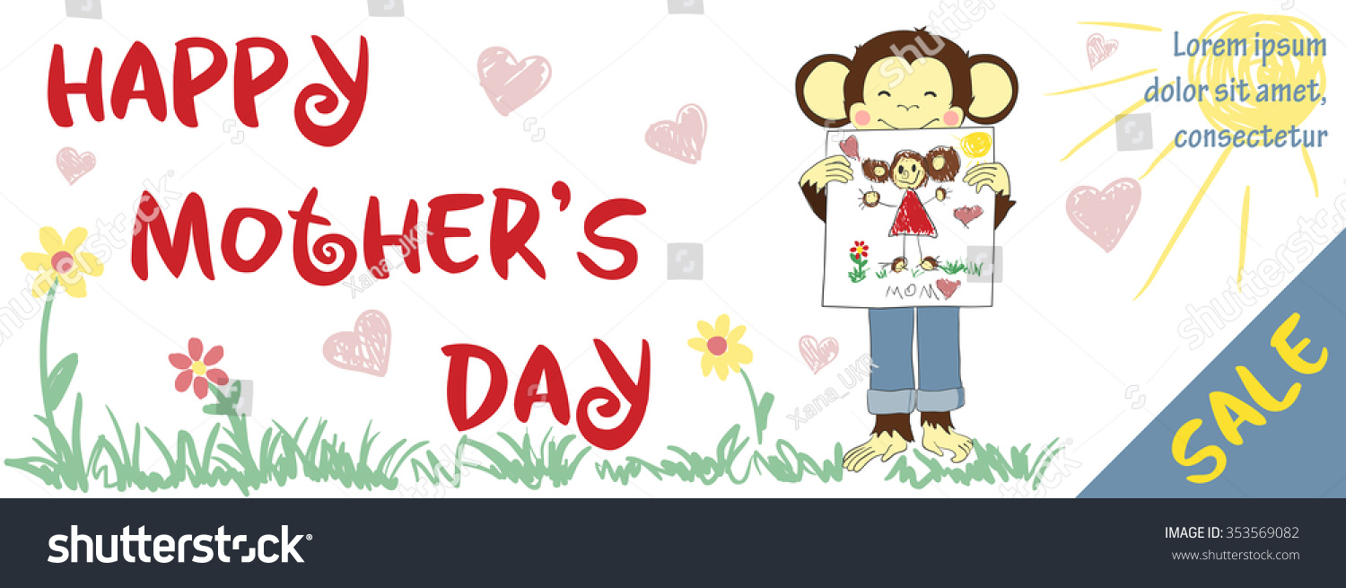 mothers day banner design one of a set holidays banners save to a lightbox