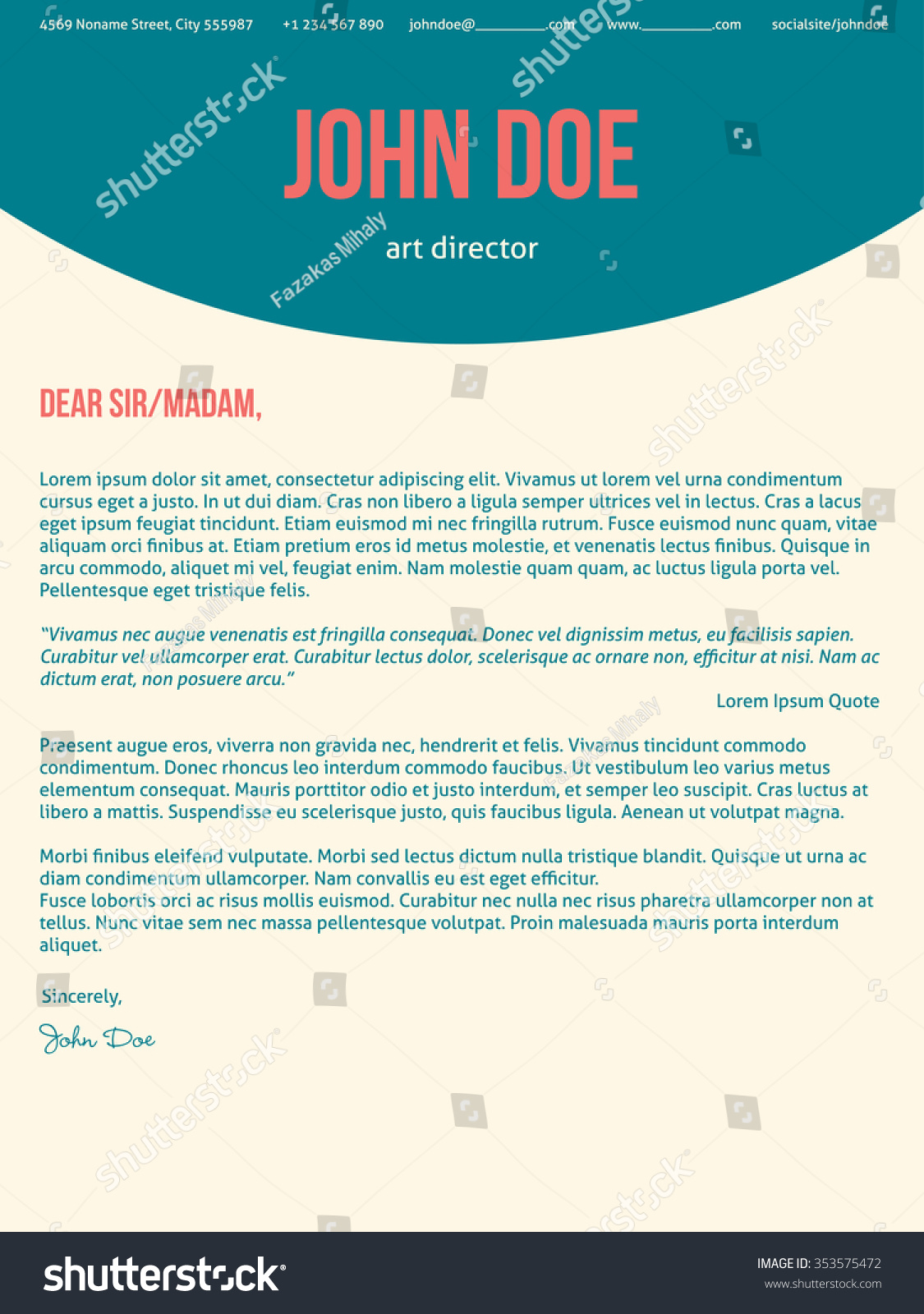 cover letter cv  resume format download pdf also cover letter cv bartender cover letter sample modern cover letter cv resumetemplate design in turquoise