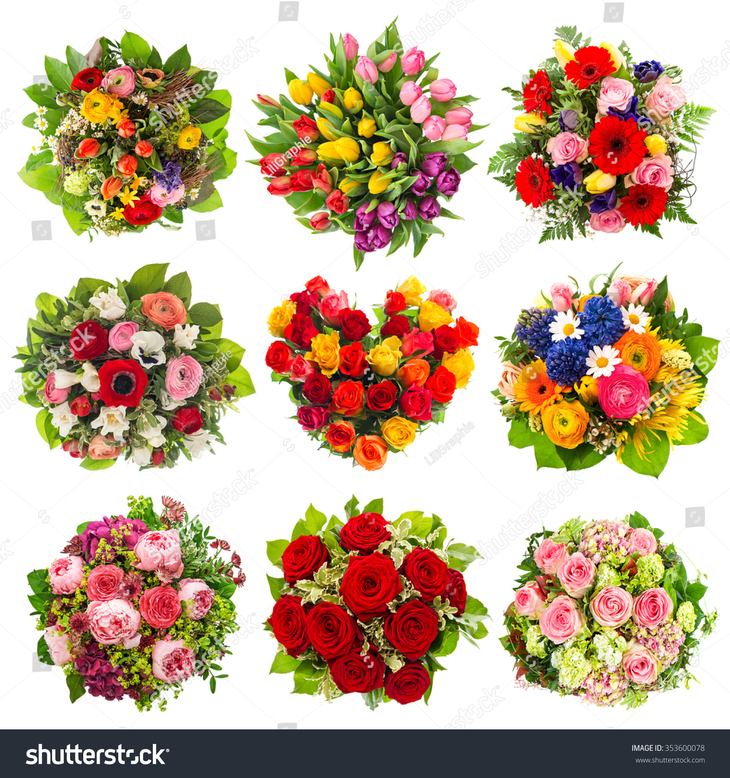 Flowers bouquet birthday wedding mothers day stock photo edit now flowers bouquet for birthday wedding mothers day easter anniversary holidays izmirmasajfo